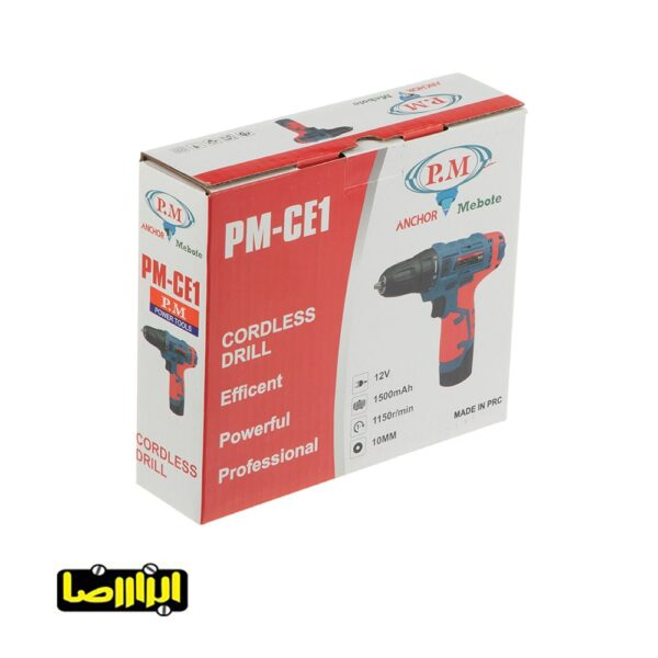 عکس دریل پیچ گوشتی شارژی آنکور مدل PM-CE1