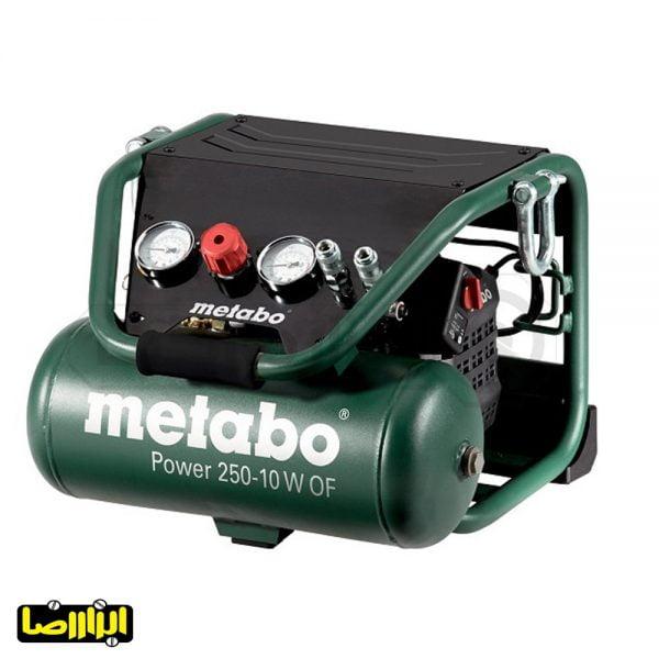 پمپ باد متابو 10 لیتری مدل Power 250-10 W OF