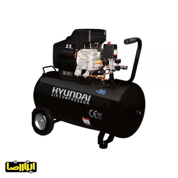 پمپ باد هیوندای 50 لیتری مدل AC-5025