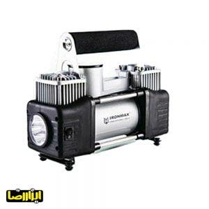 پمپ باد فندکی آیرون مکس دو سیلندر مدل IM-AC55A