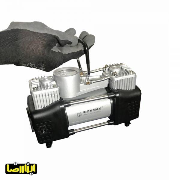 عکس پمپ باد فندکی آیرون مکس دو سیلندر مدل IM-AC55C