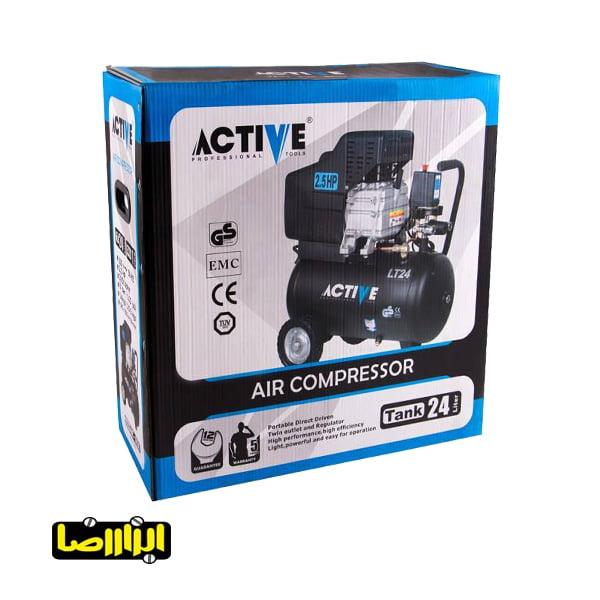 تصویر پمپ باد اکتیو 24 لیتری مدل AC-1024