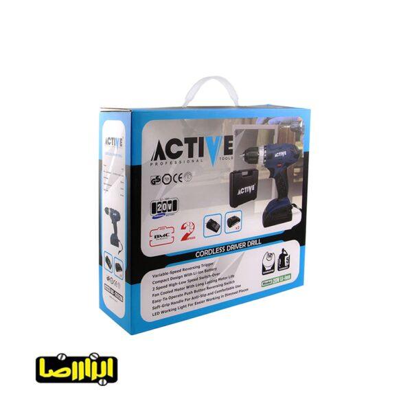 عکس های دریل پیچ گوشتی شارژی اکتیو مدل AC-25220L