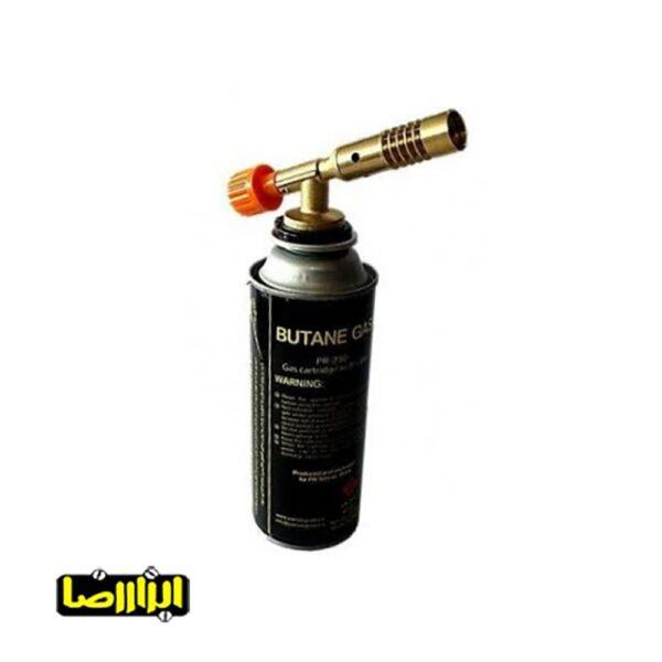 تصویر کپسول گاز بوتان سوپاپ دار مدل PR-250