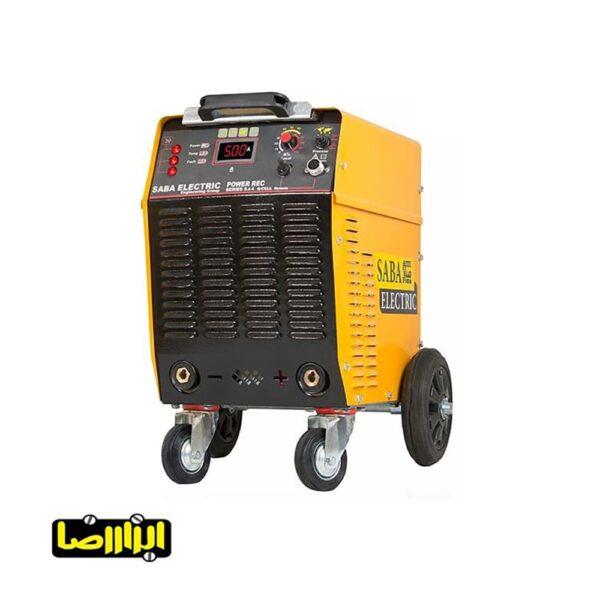 اینورتر جوشکاری سلولزی صبا الکتریک 500 آمپر مدل Power-Rec-Series 5