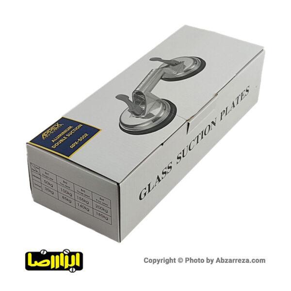 عکس های قاپک دوتایی شیشه اپکس مدل APX-1602