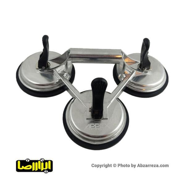 عکس قاپک سه تایی شیشه اپکس مدل APX-1603