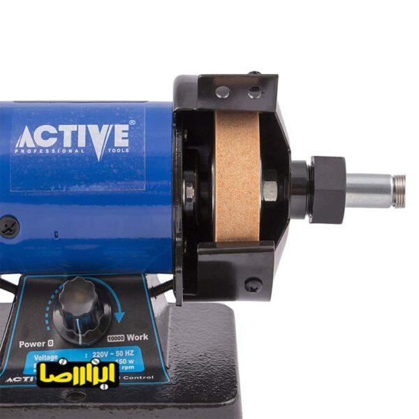 تصویر سنگ سنباده رومیزی اکتیو 150 وات مدل AC-2803G