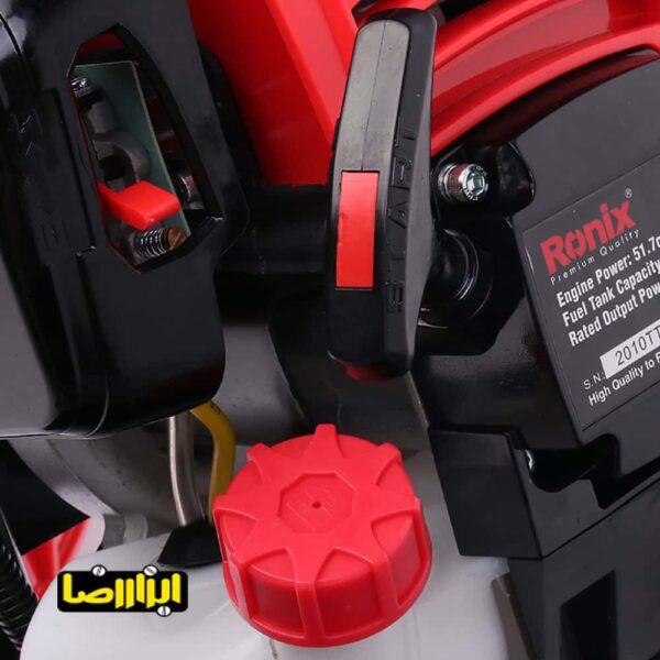 تصویر حاشیه زن موتوری چرخ دار رونیکس مدل 4555