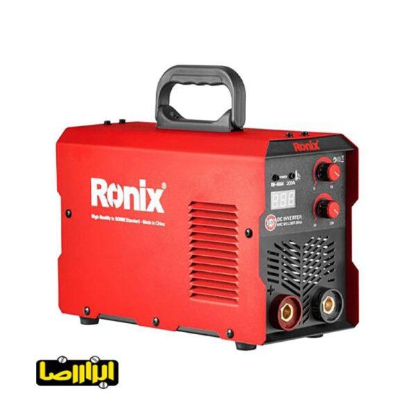 عکس اینورتر جوشکاری پاورمکس رونیکس 200 آمپر مدل RH-4604