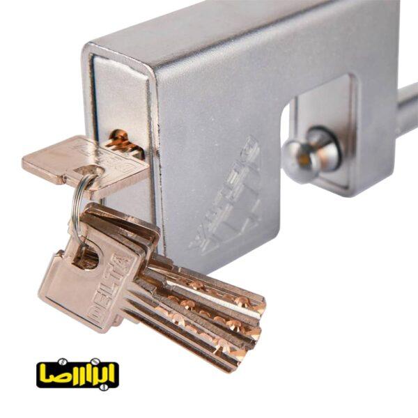 عکس قفل کتابی دلتا مدل B-100098