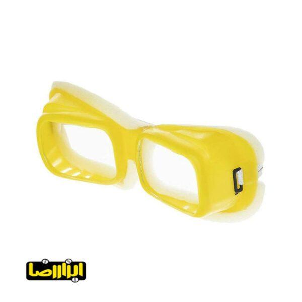 عینک موتوری دور ابری